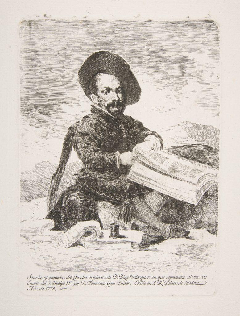 A dwarf (Un Enano) Portrait of El Primo