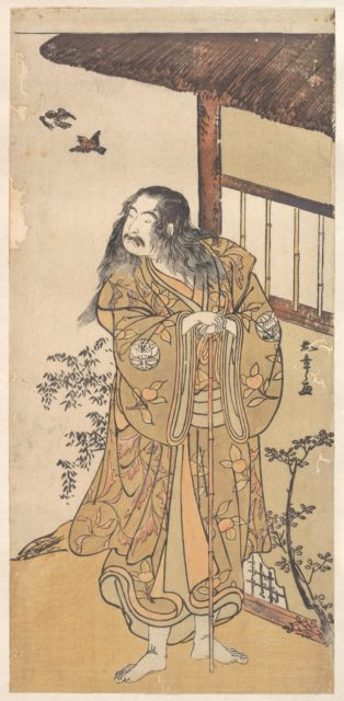 The Ninth Ichimura Uzaemon in the role of Shunkan