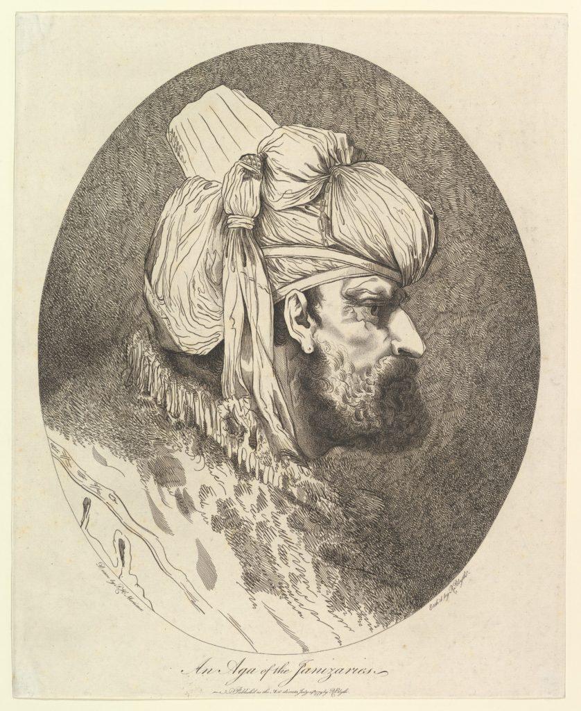 An Aga of the Janizaries