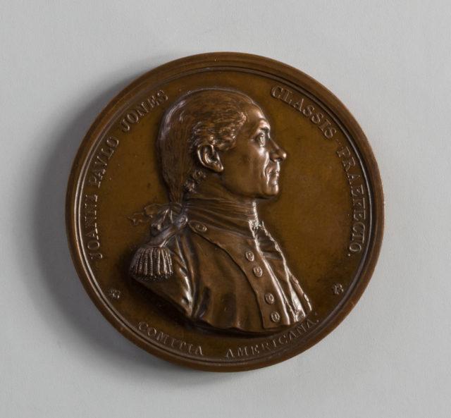 Medal of John Paul Jones and the Serapis