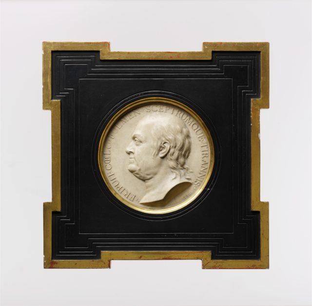 Medallion of Benjamin Franklin