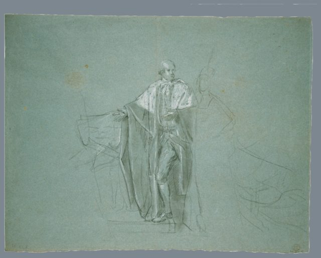 "Study for ""The Death of the Earl of Chatham"""