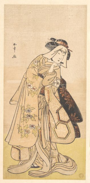 The Fourth Iwai Hanshirō as a Woman