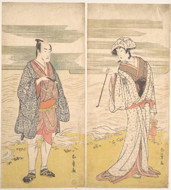 The Fourth Matsumoto Koshiro as a Man Dressed in a Short Kimono
