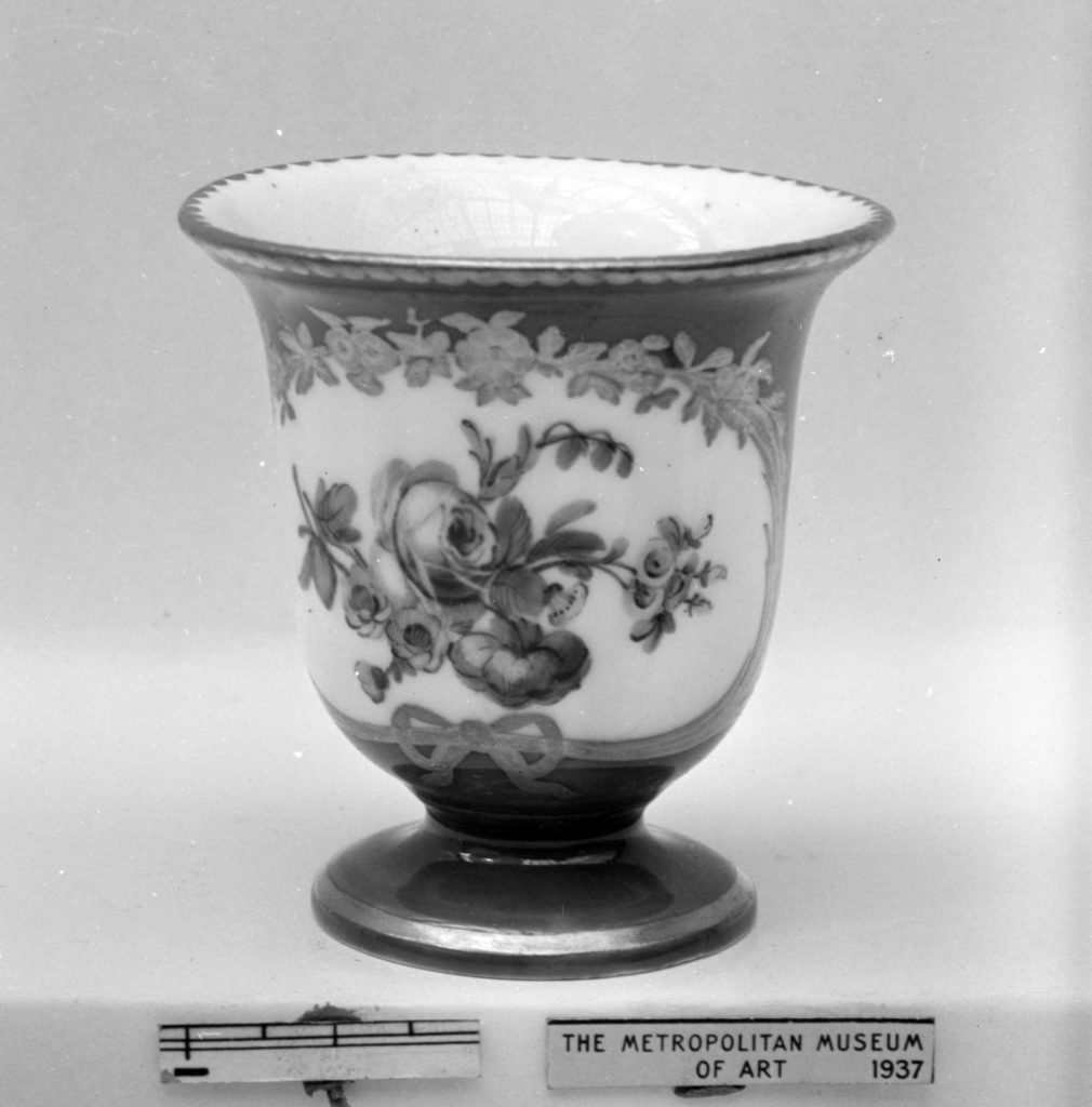 Ice cream cup (Tasse à glace) (part of a service)