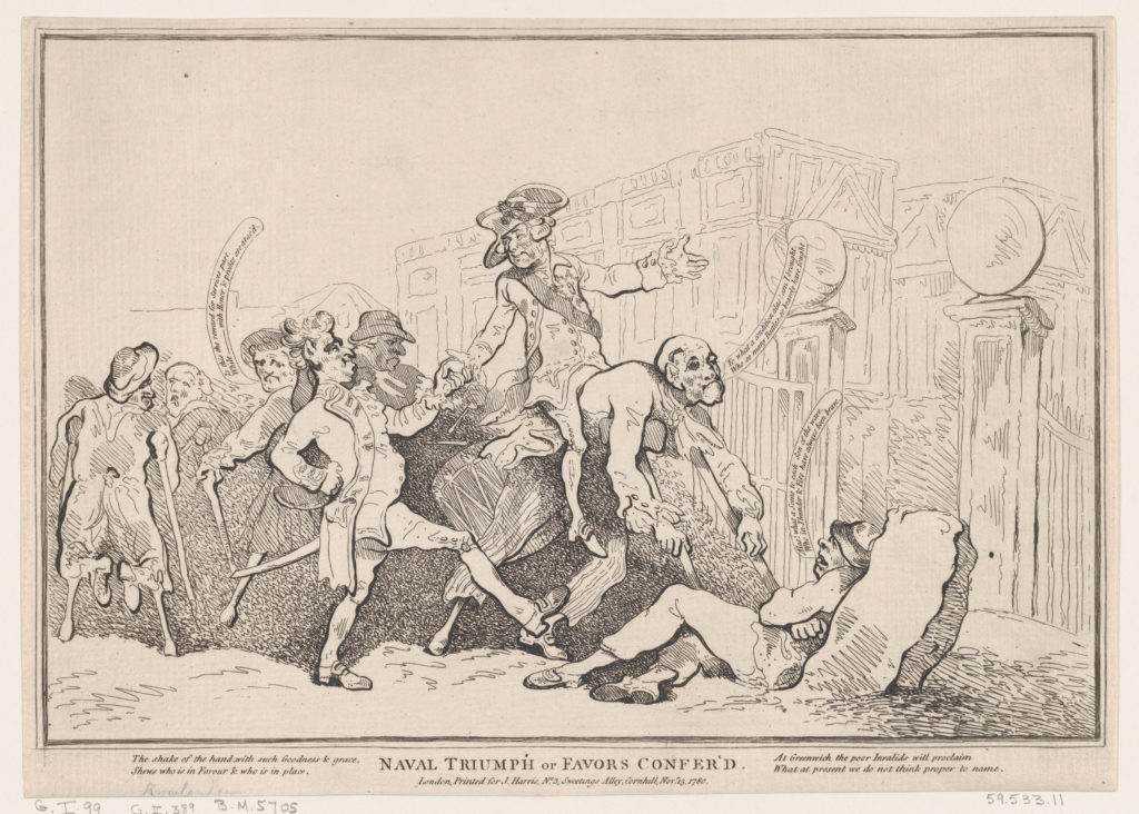 Naval Triumph, or Favours Conferred