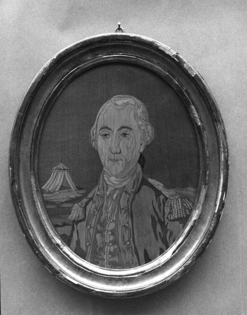 Portrait Panel of George Washington