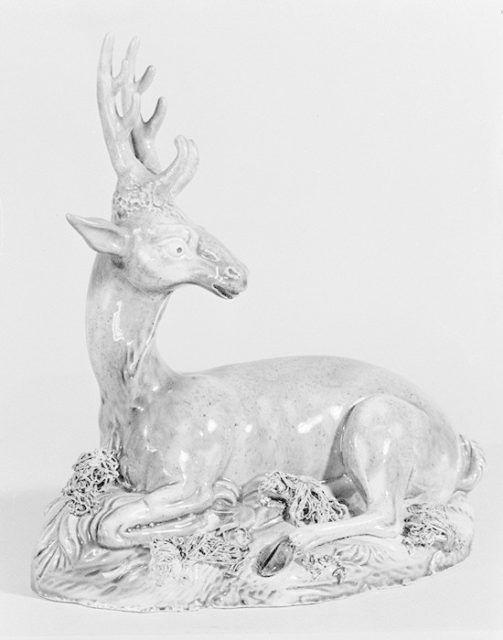 Stag (one of a pair)