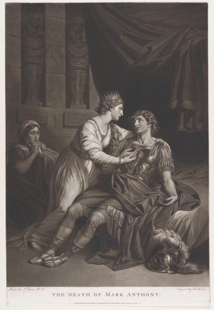 The Death of Mark Antony (Shakespeare, Antony and Cleopatra, Act 4, Scene 15)