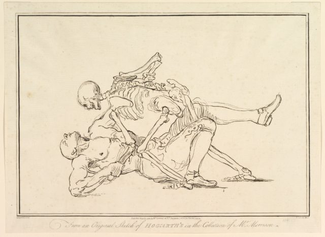 From an Original Sketch of William Hogarth's in the Collection of Mr. Morrison