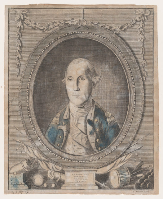 His Excellency George Washington, Esq-r., General and Commander in Chief of the Allied Armies, Supporting the Independence of America