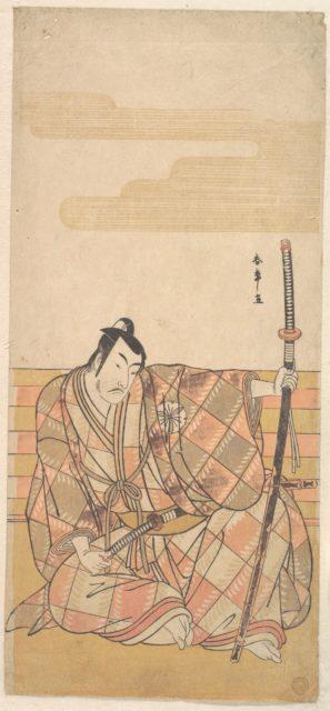 The Fourth Matsumoto Koshiro as a Samurai