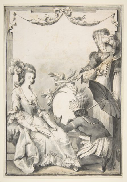 Allegorical Figures of the Four Continents