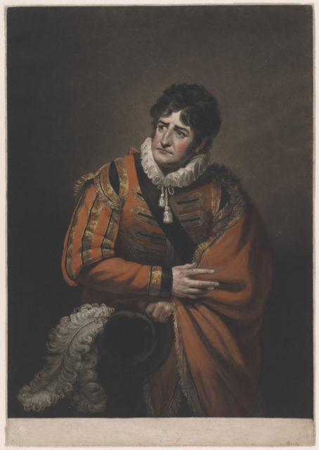 George Frederick Cooke in the Character of Iago (Shakespeare's Othello)