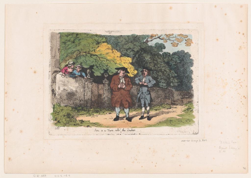 Scene in a Farce called The Quaker