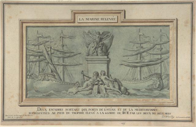 Study for Decoration of the Obelisk at Port-Vendres