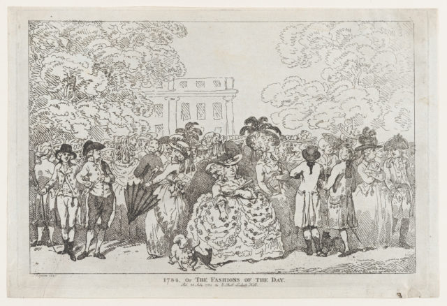 1784, or The Fashions of the Day