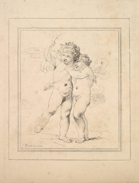 A Pair of Cupids – Cupid and Psyche