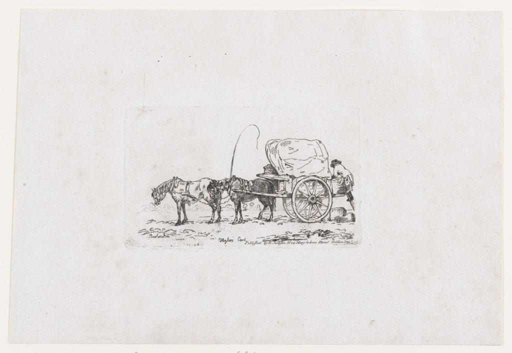 Higlers Court, from A New Book of Horses and Carriages