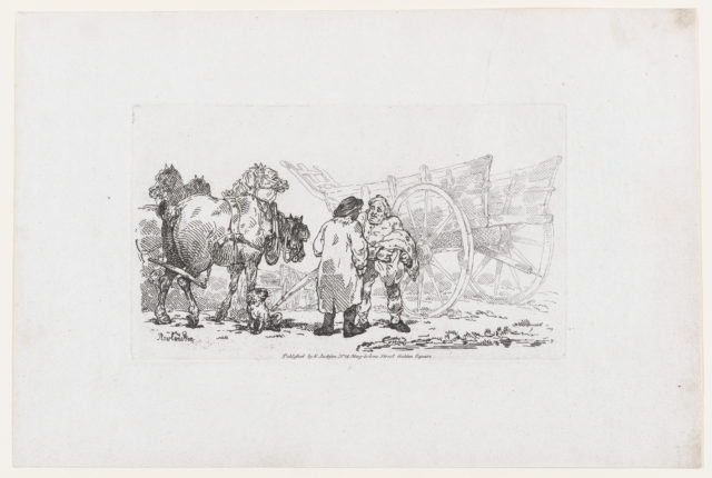 Millers Waggon, from A New Book of Horses and Carriages