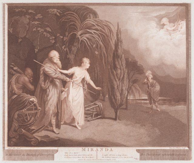 Miranda (Shakespeare, The Tempest, Act 1, Scene 2)