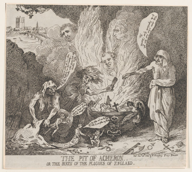 The Pit of Acheron or The Birth of the Plagues of England