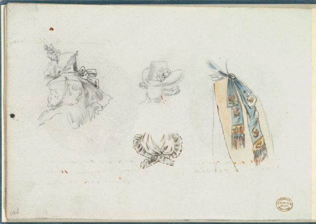 Four Designs of Costume Accessories