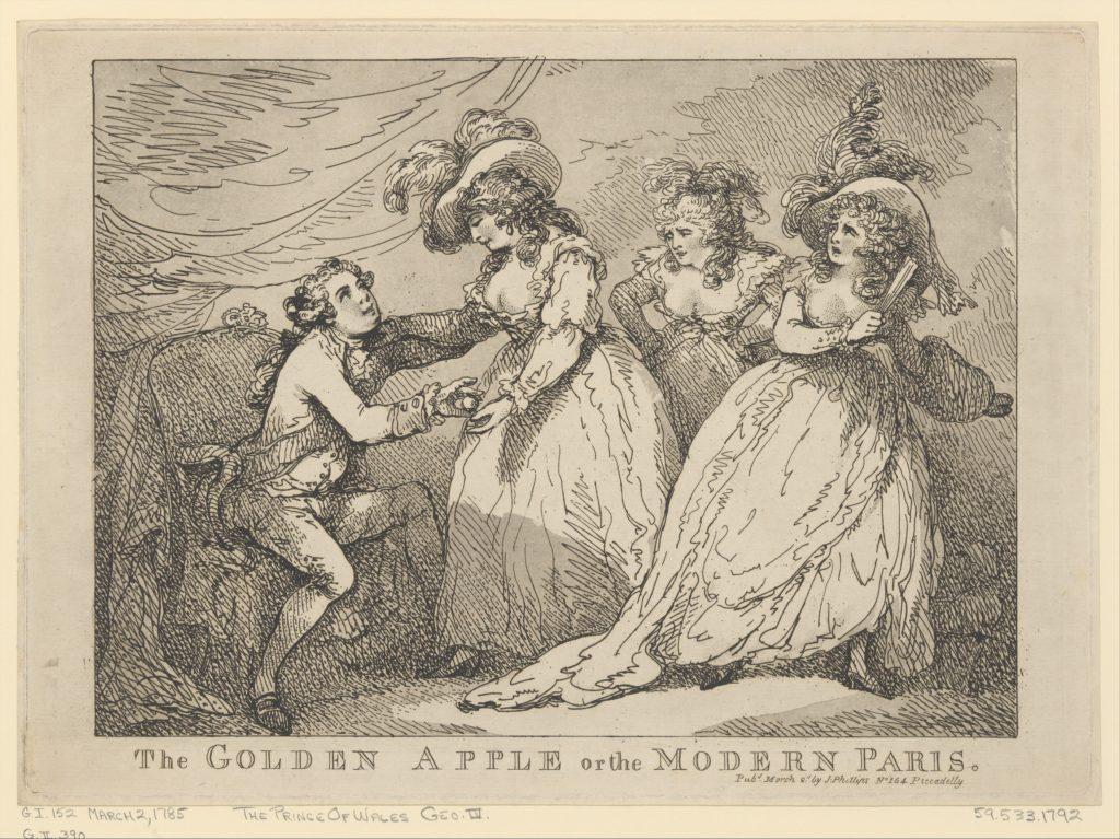 The Golden Apple, or the Modern Paris