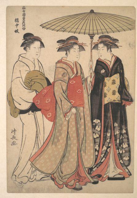 Geisha of the Tachibana Street