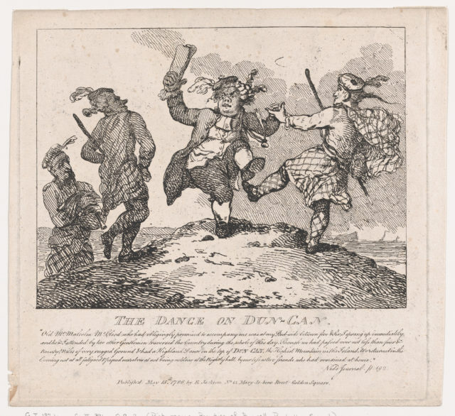 The Dance on the top of Dun-Can (Picturesque Beauties of Boswell, Part the Second)
