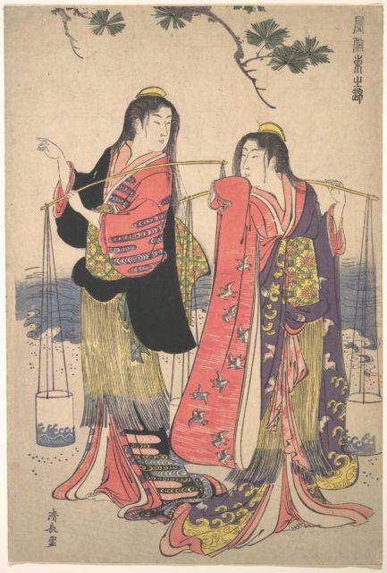 The Salt Maidens Murusame and Matsukaze