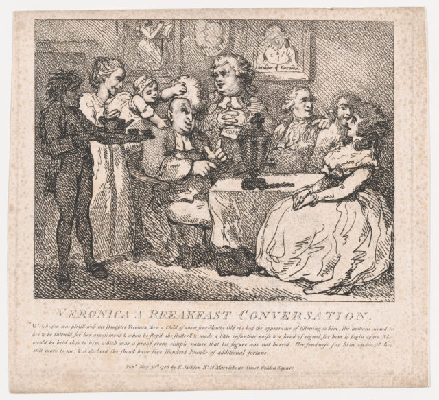 Veronica, a Breakfast Conversation (Picturesque Beauties of Boswell, Part the First)