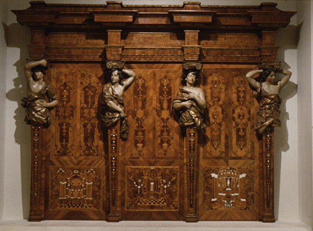 Choir stall panels