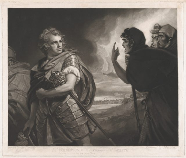 Mr. Henderson in the Character of Macbeth
