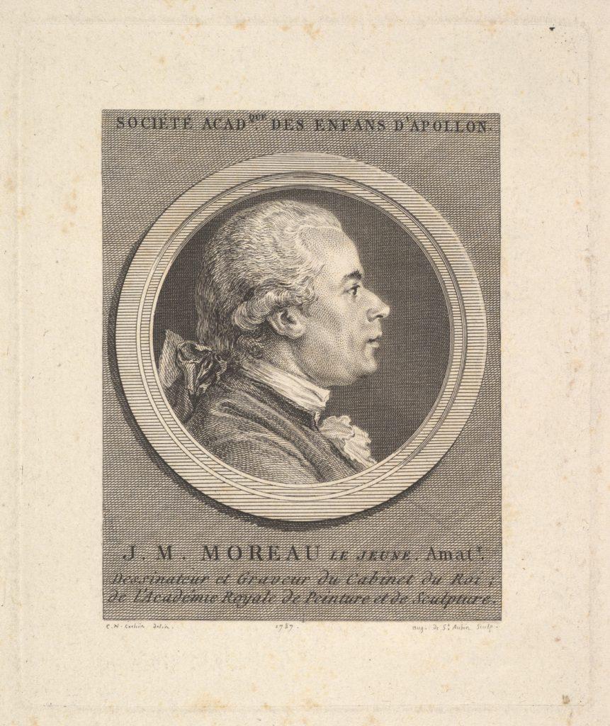 Portrait of Jean-Michel Moreau