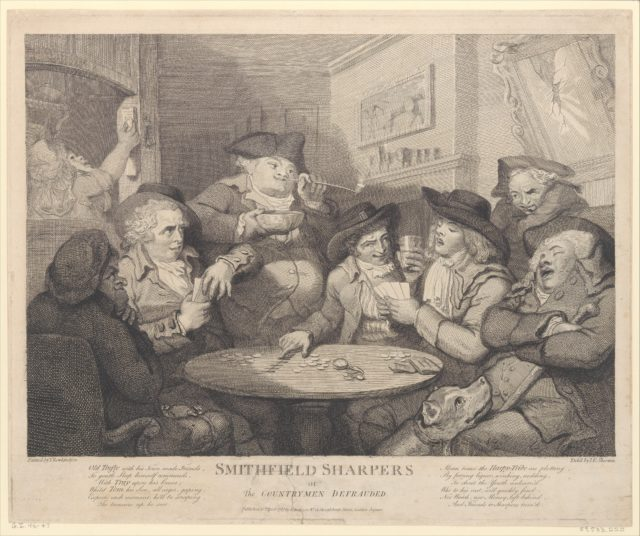 Smithfield Sharpers, or the Countryman Defrauded