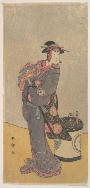 The Fourth Iwai Hanshiro as an Onnadate (Woman Kyokaku)