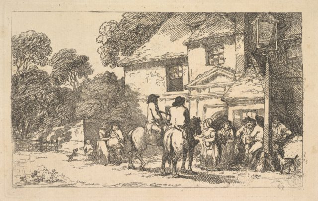 The Three Horsehoes, a Roadside Inn