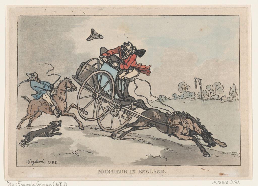 Monsieur in England