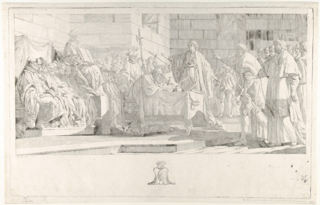Oath of the Nobles before the Chambre des Comptes