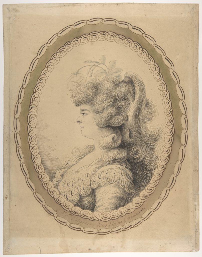 Portrait of Madame Dugazon as Nina