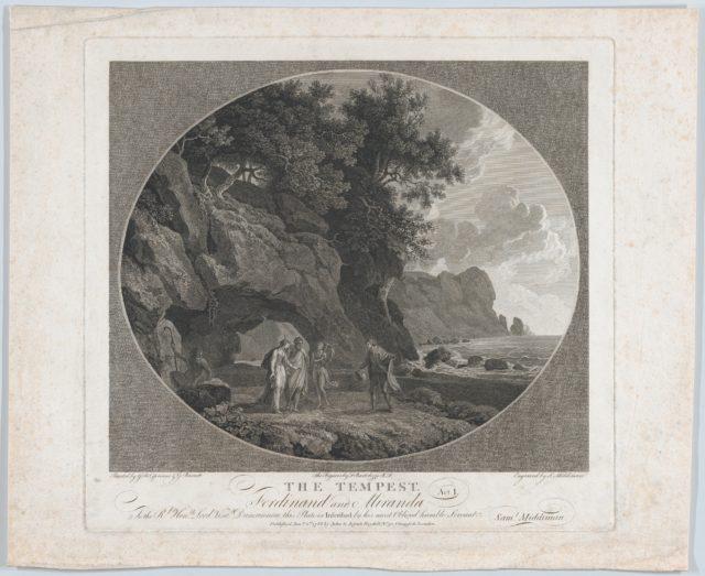 The Tempest, Act I: Ferdinand and Miranda