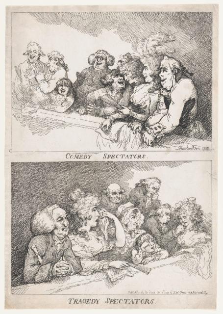 Comedy Spectators, Tragedy Spectators