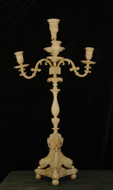 Four-light candelabrum