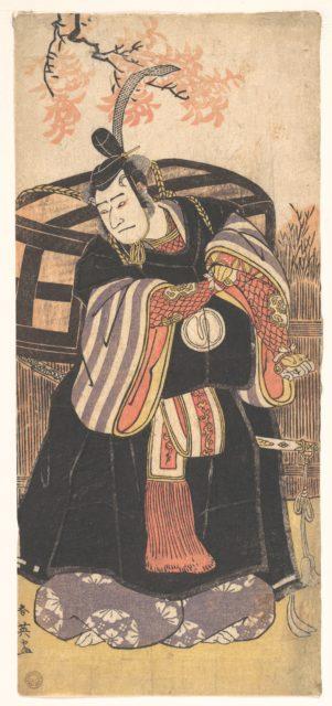 The Actor Third Sawamura Sojuro as a Man of High Position