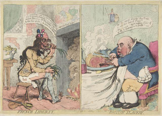 French Liberty. British Slavery