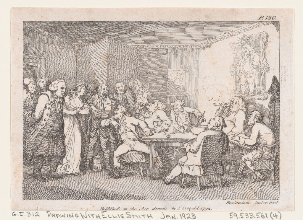 """Illustration to Henry Fielding's """"Adventures of Joseph Andrews, and his friend Mr Abraham Adams"""""""