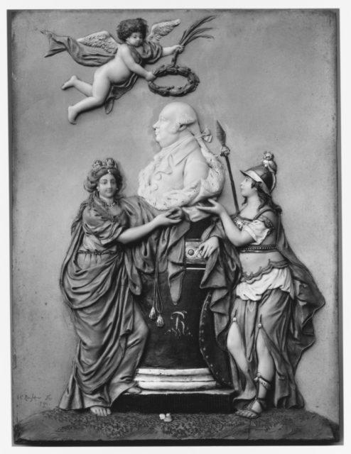 Apotheosis of Friedrich Wilhelm II, King of Prussia (b. 1744, r. 1786–97)