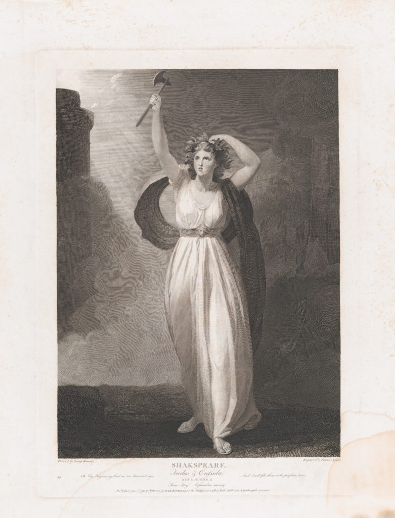 Cassandra Raving (Shakespeare, Troilus and Cressida, Act 2, Scene 2)