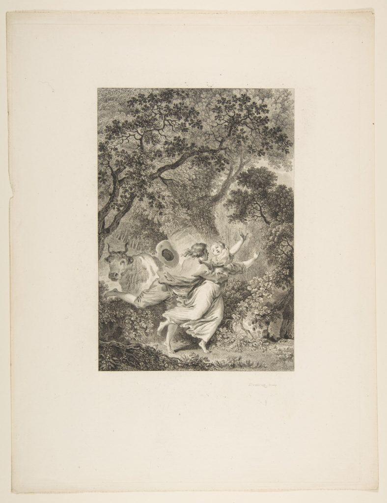 La Clochette, from Contes et nouvelles en vers par Jean de La Fontaine.  A Paris, de l'imprimerie de  P. Didot, l'an III de la République, 1795